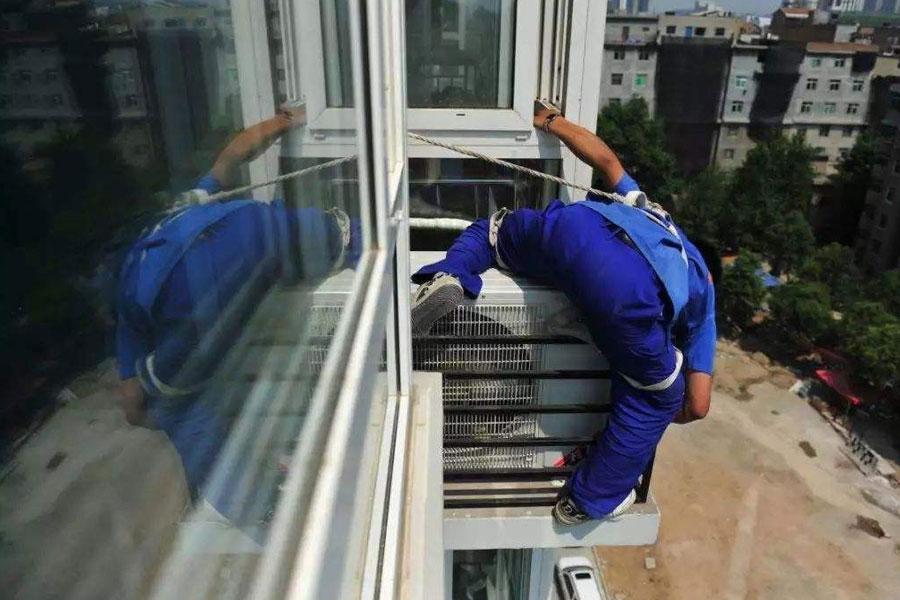 幸运快乐28搬家公司搬家时空调怎样拆装才最安全